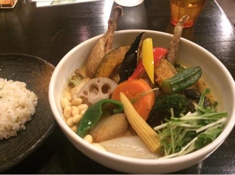 Rojiura Curry SAMURAI.神楽坂店 野菜たっぷりスープカレー