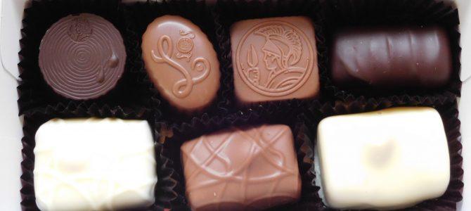 レオニダス 神楽坂店|量り売りのチョコレート13種類