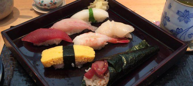 神楽坂 鮨 やまあい|本多横丁のお寿司屋さんランチ