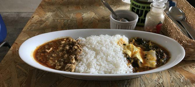 CAFE DE MOMO(カフェドモモ)|市ヶ谷のカレー屋さんで麻婆カレー